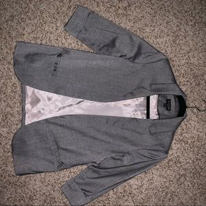 Top shop Gray Blazer Chic and Professional Fit